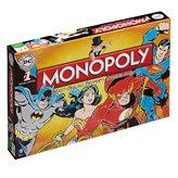 Društvena igra HASBRO Monopoly, DC Comics Retro, engleska verzija