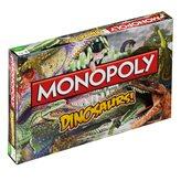 Društvena igra HASBRO Monopoly, Dinosaurs, engleska verzija