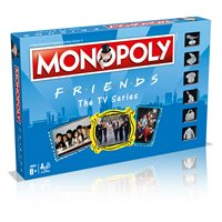 Društvena igra HASBRO Monopoly, Friends, engleska verzija
