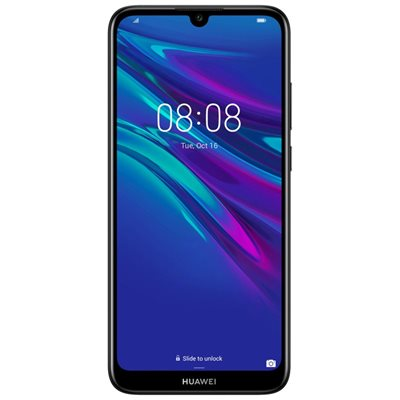 "Smartphone HUAWEI Y6 2019, 6.09"", 2GB, 32GB, Android 9.0, crni"