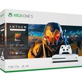 Igraća konzola MICROSOFT XBOX One S, 1000GB + Anthem