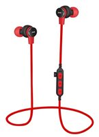 Slušalice MS Industrial Track, in-ear, bluetooth, mikrofon, crvene