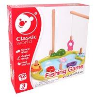 Drvena igačka CLASSIC WORLD, igra pecanja 2579