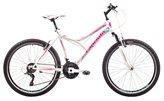 Dječji bicikl CAPRIOLO MTB DIAVOLO 600, vel.17˝, kotači 26˝, bijelo/rozi