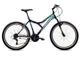 Dječji bicikl CAPRIOLO MTB DIAVOLO 600, vel.17˝, kotači 26˝, crno/žuti