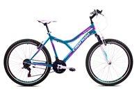 Dječji bicikl CAPRIOLO MTB DIAVOLO 600, vel.17˝, kotači 26˝, plavo/rozi