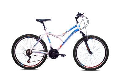 Dječji bicikl CAPRIOLO MTB DIAVOLO 600, vel.19˝, kotači 26˝, bijelo/plavi