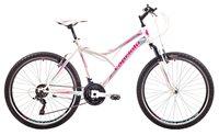 Dječji bicikl CAPRIOLO MTB DIAVOLO 600, vel.19˝, kotači 26˝, bijelo/rozi