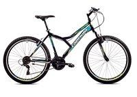 Dječji bicikl CAPRIOLO MTB DIAVOLO 600, vel.19˝, kotači 26˝, crno/žuti