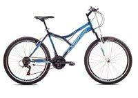 Dječji bicikl CAPRIOLO MTB DIAVOLO 600, vel.19˝, kotači 26˝, sivo/plavi
