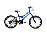 Dječji bicikl MTB DIAVOLO 200, 6 brzina, kotači 20˝, plavo/žuta