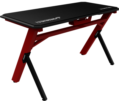 Gaming stol GAMDIAS DAEDALUS E1, mousepad, crveni
