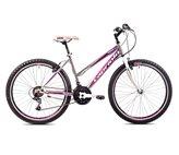 Ženski bicikl CAPRIOLO MTB PASSION, vel.17˝, kotači 26˝, sivo/ljubičasti