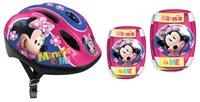 Dječja zaštitna kaciga STAMP, Minnie Its Me, veličina S, 52-56cm + štitnici za laktove i koljena