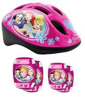 Dječja zaštitna kaciga STAMP, Princess, veličina S, 52-56cm + štitnici za laktove i koljena