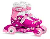 Dječje role STAMP, Princess, veličina 27-30, 3 kotača/inline, 2u1