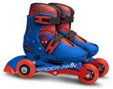 Dječje role STAMP, Spiderman, veličina 27-30, 3 kotača/inline, 2u1