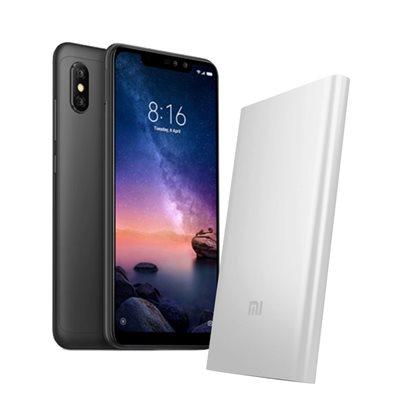 """Smartphone XIAOMI Redmi Note 6 Pro, 6,26"""", 4GB, 64GB, Android 8,1, crni + poklon PowerBank"""