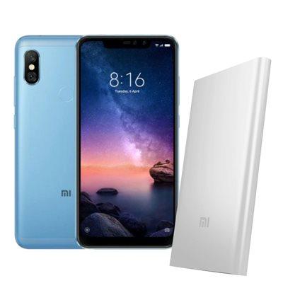 "Smartphone XIAOMI Redmi Note 6 Pro, 6,26"", 4GB, 64GB, Android 8,1, plavi + poklon PowerBank"