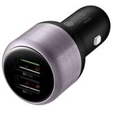 Auto punjač Huawei AP31, 2 USB priključka, USB-C kabel