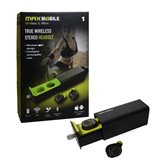 Slušalice MAXMOBILE GW-10 TWS, in-ear, Bluetooth, crne