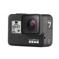 Sportska digitalna kamera GOPRO HERO7 Black, 4K60, 12 Mpixela + HDR, Touchscreen, Voice Control, 3 Axis, GPS + SD kartica 32 GB