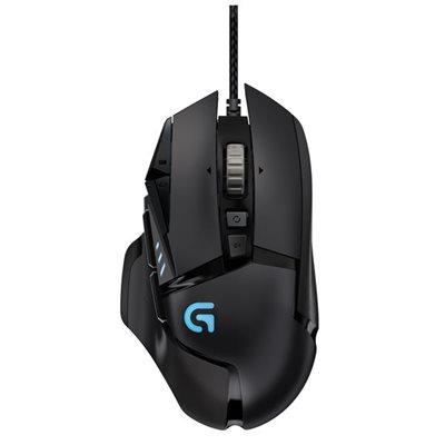 Miš LOGITECH G502 Proteus Spectrum RGB, Gaming, optički, 12000dpi, crni, USB