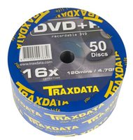 Medij DVD-R TRAXDATA 16x, 4.7GB, Value pack, spindle 50 komada