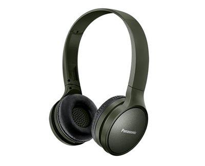 Slušalice PANASONIC RP-HF410BE-G, Bluetooth, maslinasto zelene