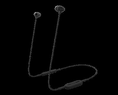 Slušalice PANASONIC RP-NJ310BE-K, in-ear, Bluetooth, crne