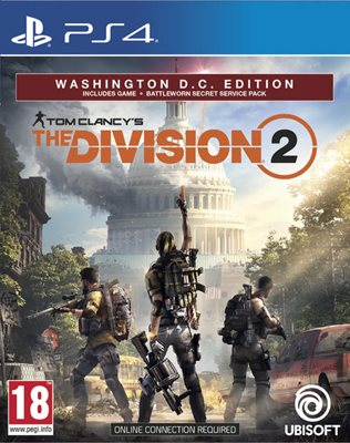 Igra za SONY PlayStation 4, Tom Clancy's The Division 2 Washington DC Deluxe Edition