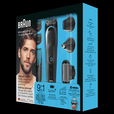 Trimer za bradu/šišač BRAUN MGK 5080, 9u1