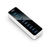 USB HUB ANKER, USB 3.0 10-portni, 1 port za punjenje