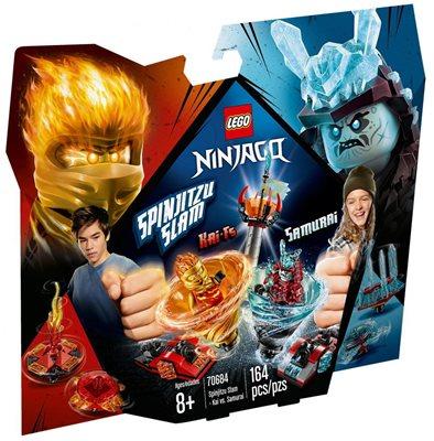 LEGO 70633, Ninjago, Kai vs. Samurai, majstori spinjitzua