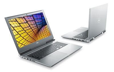 "Prijenosno računalo DELL Vostro 7580 / Core i7 8750H, DVDRW, 16GB, 1000GB + 256GB SSD, GeForce GTX 1060 6GB, 15.6"" IPS FHD, Linux, srebrno"