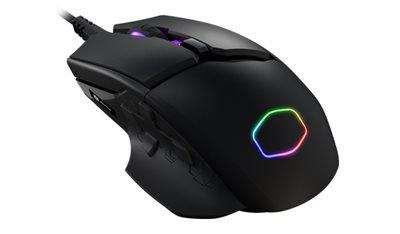 Miš COOLERMASTER MM830, 12000dpi, crni, USB
