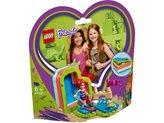 LEGO 41388, Friends, Mia's Heart-shaped Summer Box, Mijina Ljetna Srcolika Kutija