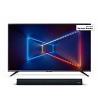 LED TV 55'' SHARP LC-55UI7552E, SMART TV, 4K UHD, DVB-T2/S2, energetska klasa A + Soundbar SHARP HT-SB106
