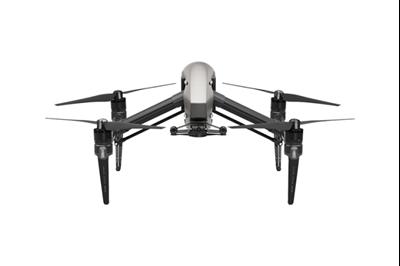 Dron DJI Inspire 2 (L), sa licencom, bez gimbal kamere, brzina leta do 94km/h, vrijeme leta do 27min, daljinski upravljač