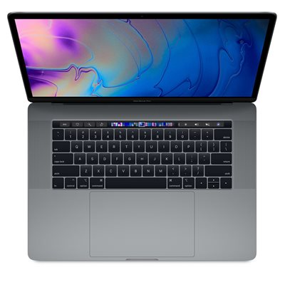 "Prijenosno računalo APPLE MacBook Pro 15,4"" Touch Bar mv912cr/a / OctaCore i9 2.3GHz, 16GB, 512GB SSD, Radeon Pro 560X, sivo"