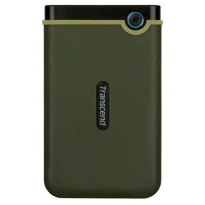 """Tvrdi disk vanjski 2000.0 GB TRANSCEND StoreJet 25M3G, 2.5"""", USB 3.0, Military Green"""