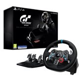 Volan LOGITECH G29 Driving Force Racing Wheel, Gaming, PC/PS3/PS4, USB + Gran Turismo Sport Collector's Edition PS4