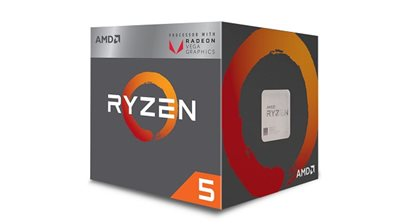 Procesor AMD Ryzen 5 3400G BOX, s. AM4, 3.7GHz, QuadCore, RX Vega, Wraith Stealth