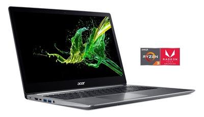"Prijenosno računalo ACER Swift 3 NX.GV7EX.029 / Ryzen 3 2200U, 8GB, 256GB SSD, Radeon Vega 3, 15,6"" LED FHD, Linux, srebrno"