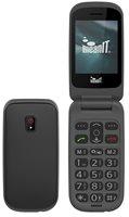Mobitel MEANIT Senior Flip 1, Dual SIM, crni
