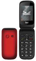 Mobitel MEANIT Senior Flip 1, Dual SIM, crveni