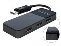 Razdjelnik DELOCK, DisplayPort (M) na 3 x DisplayPort (Ž)