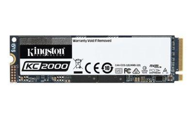 SSD 240.0 GB KINGSTON KC2000 SKC2000M8/250G, M.2/PCI-e, 2280, maks do 3000/1100 MB/s