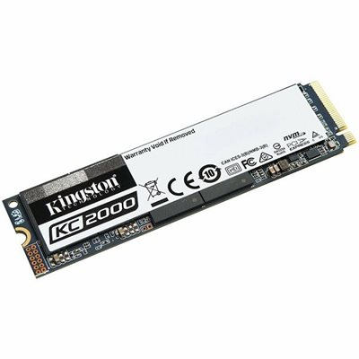 SSD 500.0 GB KINGSTON KC2000 SKC2000M8/500G, M.2/PCI-e, 2280, maks do 3000/2000 MB/s