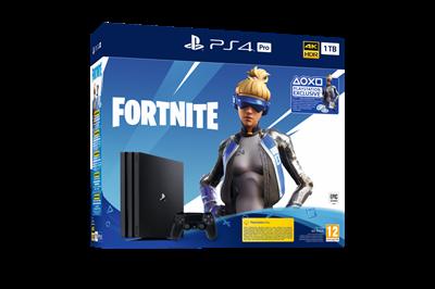 Igraća konzola SONY PlayStation 4 Pro, 1000GB black G Chassis, Fortnite VCH (2019)